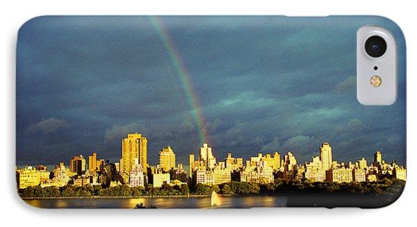 Rainbow In The City IPhone Case by Ariane Moshayedi