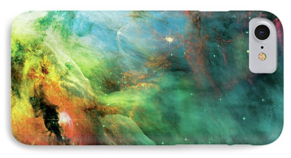 Rainbow Orion Nebula IPhone Case by The  Vault - Jennifer Rondinelli Reilly