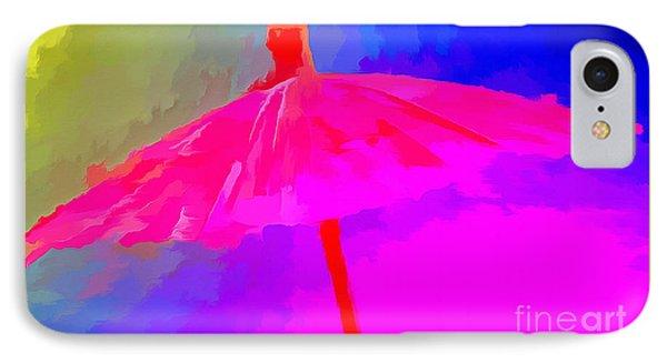 Rainbow Storm IPhone Case by Krissy Katsimbras