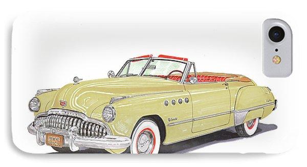 Rainman Buick Roadmaster IPhone Case by Jack Pumphrey