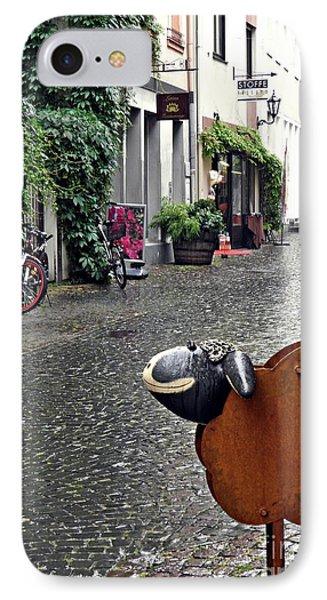 Rainy Day Smile IPhone Case by Sarah Loft