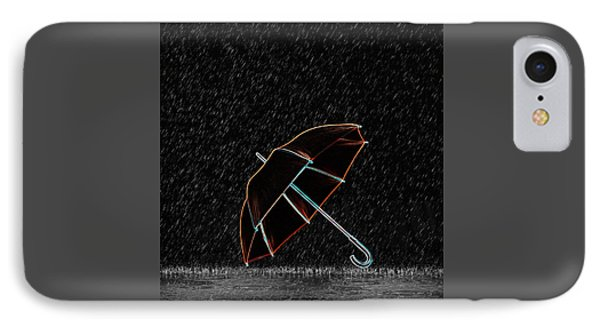 Rainy Night  IPhone Case by Art Spectrum