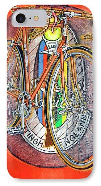 Raleigh Gran Sport IPhone Case by Mark Howard Jones