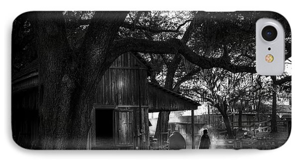 Ranch Hand Bw IPhone Case by Marvin Spates
