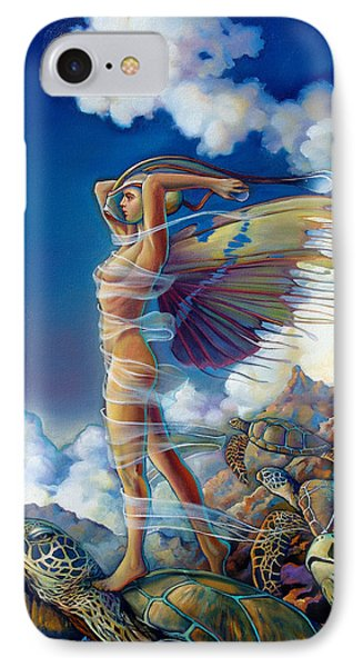 Rapture And The Ecstasea IPhone 7 Case by Patrick Anthony Pierson