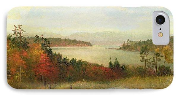 Raquette Lake Phone Case by Homer Dodge Martin