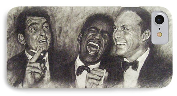 Rat Pack IPhone 7 Case by Cynthia Campbell