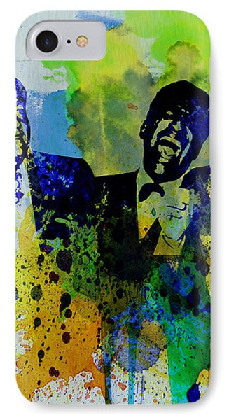 Rat Pack IPhone Case by Naxart Studio