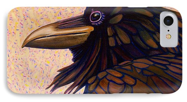 Raven Shaman IPhone 7 Case by Brian  Commerford