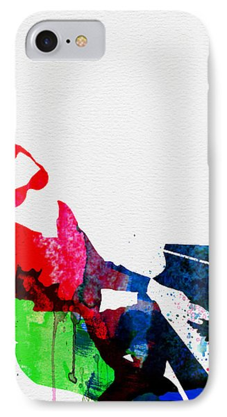 Ray Watercolor IPhone Case by Naxart Studio