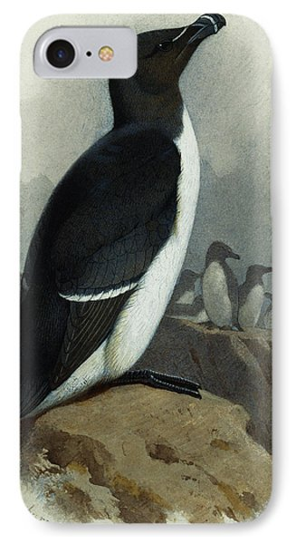 Razorbill IPhone 7 Case by Archibald Thorburn