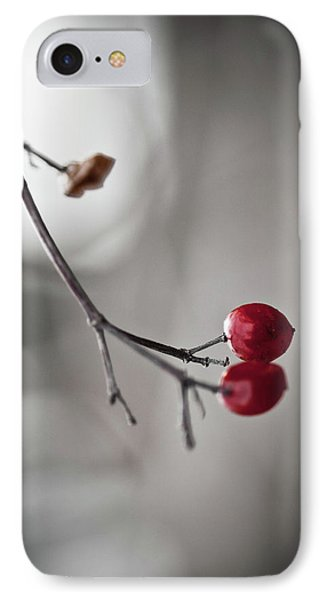 Red Berries IPhone Case by Mandy Tabatt