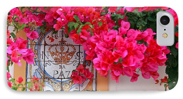 Red Bougainvilleas Phone Case by Gaspar Avila