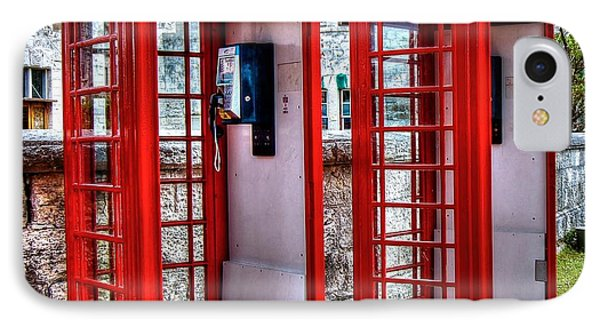 Red Box Phone Case by Debbi Granruth