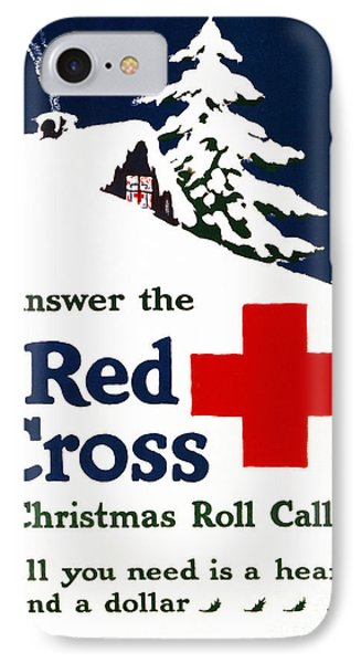 Red Cross Poster, C1915 Phone Case by Granger