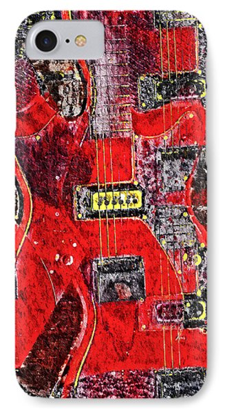 Red Devil Phone Case by Bill Cannon