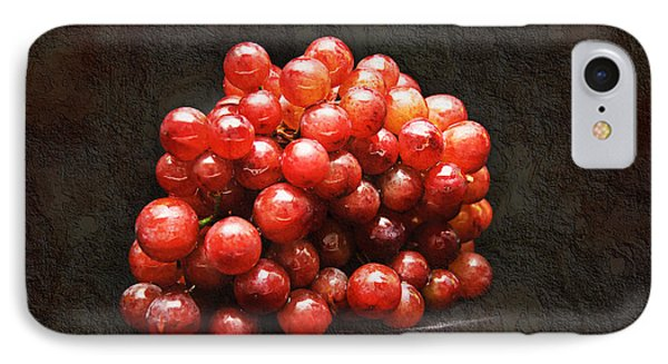 Red Grapes Phone Case by Andee Design