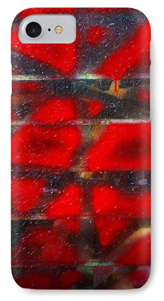 Red Scare Phone Case by Skip Hunt