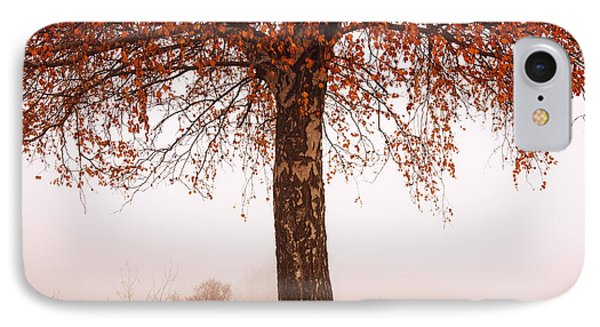 Red Tree Phone Case by Evgeni Dinev