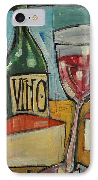 Red Wine And Cheese Phone Case by Tim Nyberg