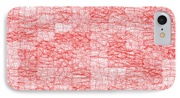 Red.178 IPhone Case by Gareth Lewis