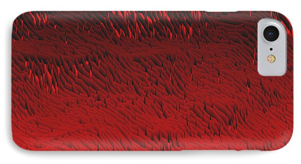 Red.422 IPhone Case by Gareth Lewis