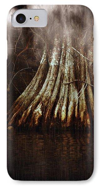 Reelfoot In Gentle Rain IPhone Case by Julie Dant