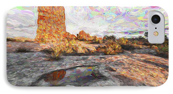 Reflection Of Arches IIi IPhone Case by Jon Glaser