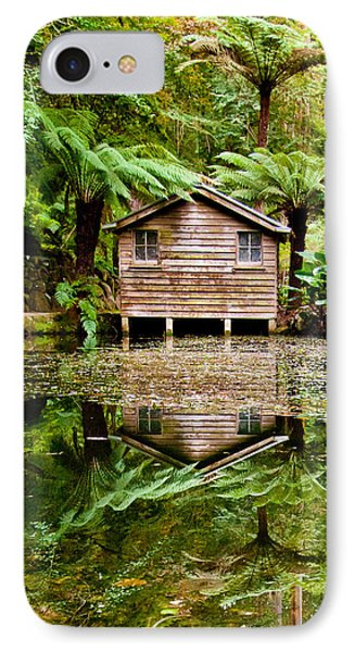 Reflections On The Pond IPhone Case by Az Jackson