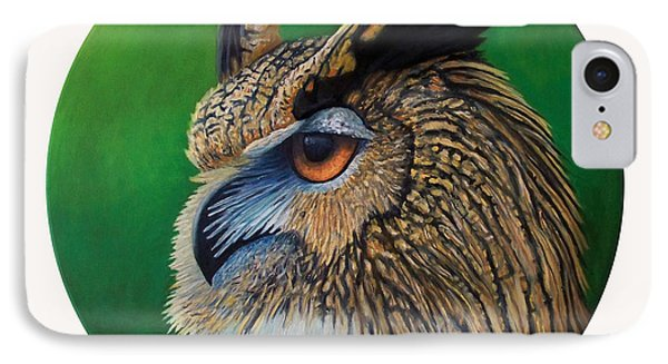 Regal Gaze Phone Case by Brian  Commerford
