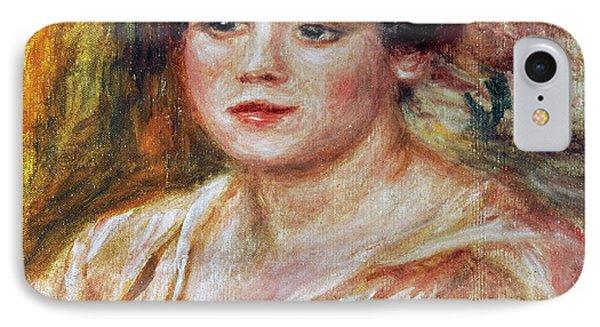 Renoir: Adele Besson, 1918 Phone Case by Granger