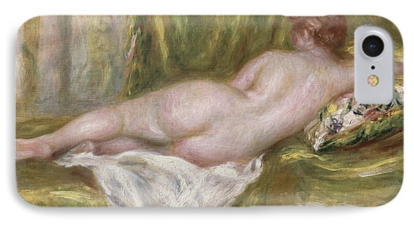 Rest After The Bath IPhone Case by Pierre Auguste Renoir