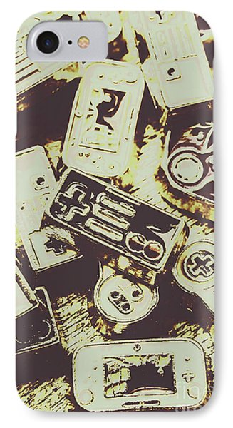 Retro Computer Games IPhone Case by Jorgo Photography - Wall Art Gallery