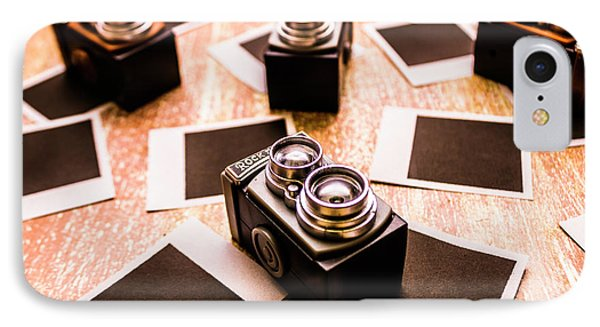Retro Photographic Scene IPhone Case by Jorgo Photography - Wall Art Gallery