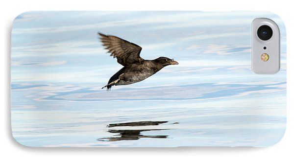 Rhinoceros Auklet Reflection IPhone 7 Case by Mike Dawson