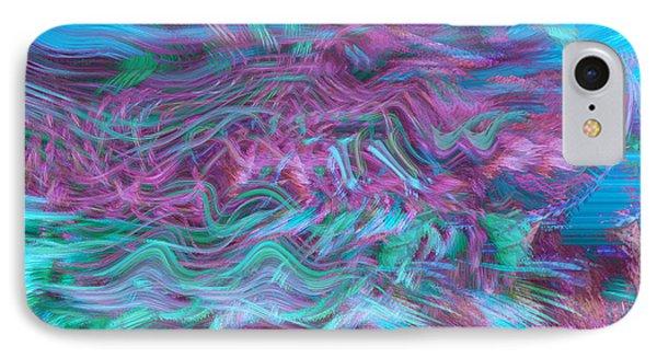Rhythmic Waves Phone Case by Linda Sannuti