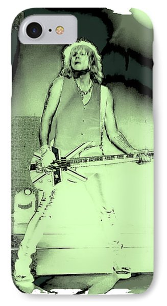 Rick Savage - Def Leppard IPhone Case by David Patterson