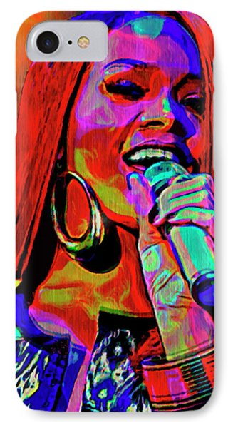 Rihanna  IPhone 7 Case by  Fli Art