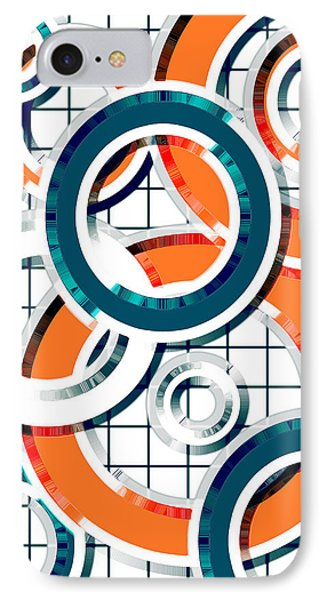 Ring Toss 1 IPhone Case by Shawna Rowe
