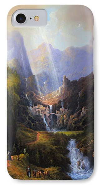 Rivendell. The Last Homely House.  IPhone 7 Case by Joe Gilronan