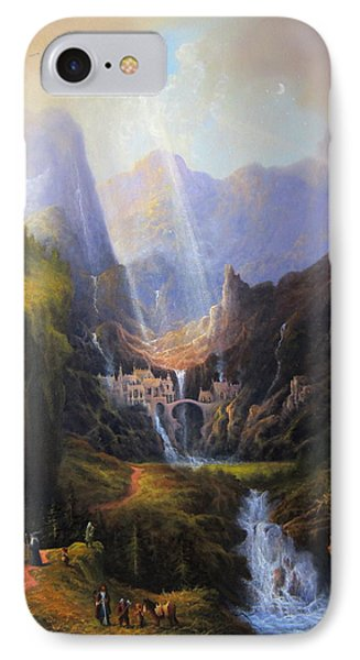 Rivendell. The Last Homely House.  IPhone Case by Joe Gilronan