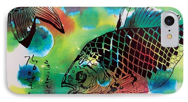 River Fishes IPhone Case by Jungsu Lim