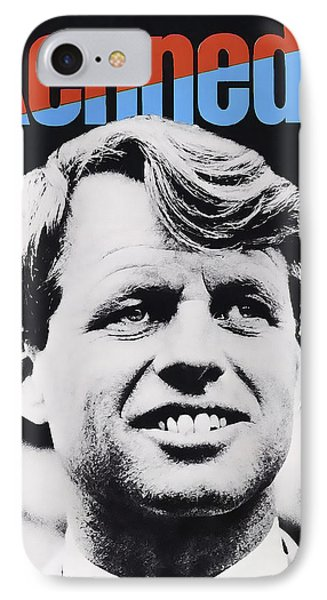 Robert Kennedy Campaign Poster IPhone Case by Daniel Hagerman