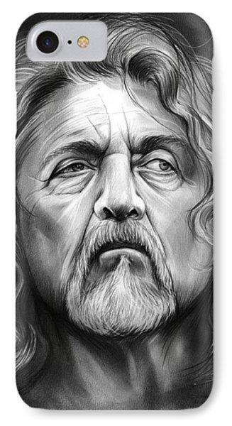Robert Plant IPhone Case by Greg Joens