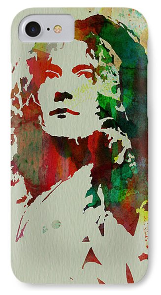 Robert Plant IPhone 7 Case by Naxart Studio