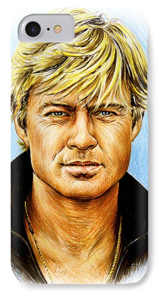Robert Redford IPhone Case by Andrew Read