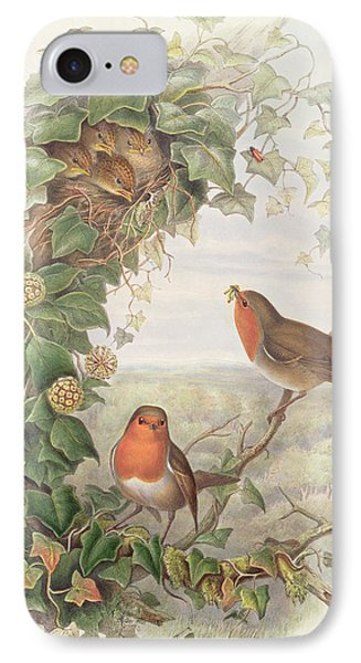 Robin IPhone Case by John Gould