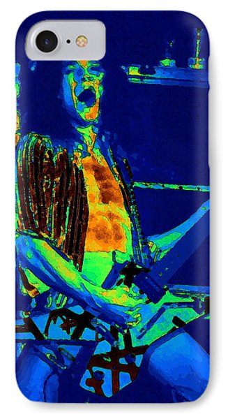 Rock 'n' Roll The Cosmic Blues Phone Case by Ben Upham