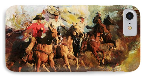 Rodeo 39 IPhone Case by Maryam Mughal