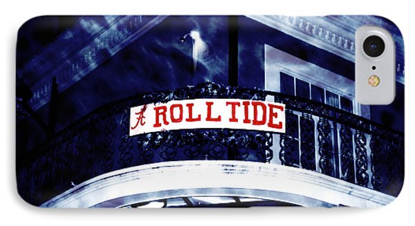 Roll Tide At The Sugar Bowl IPhone Case by John Rizzuto